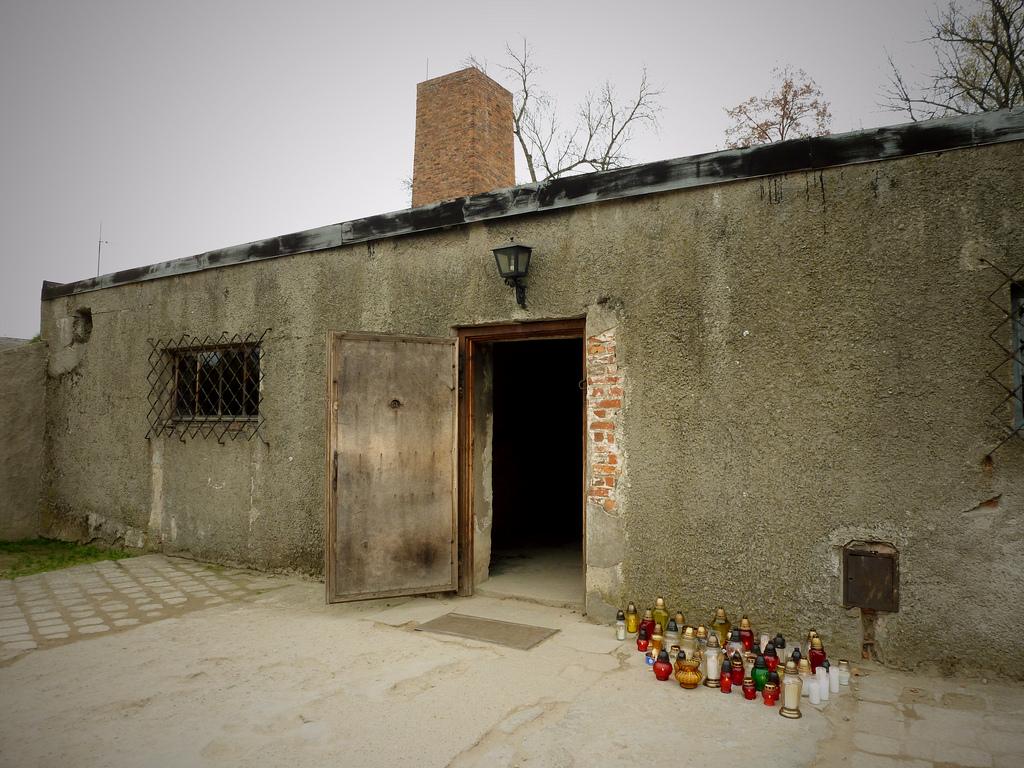 chambre gaz et cr matorium auschwitz birkenau pologne