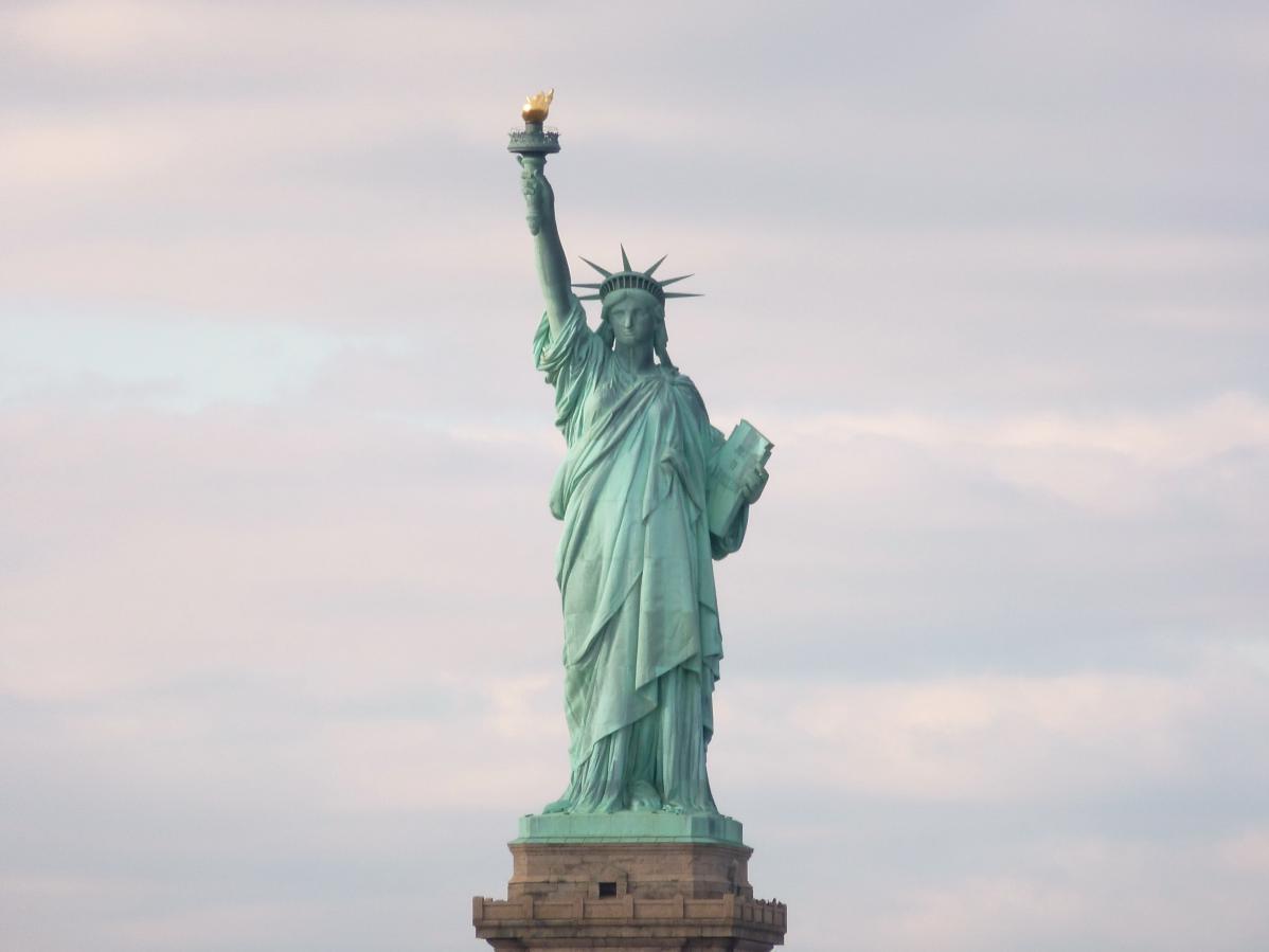 Voyager sans argent et voir la statue de la liberté à New York