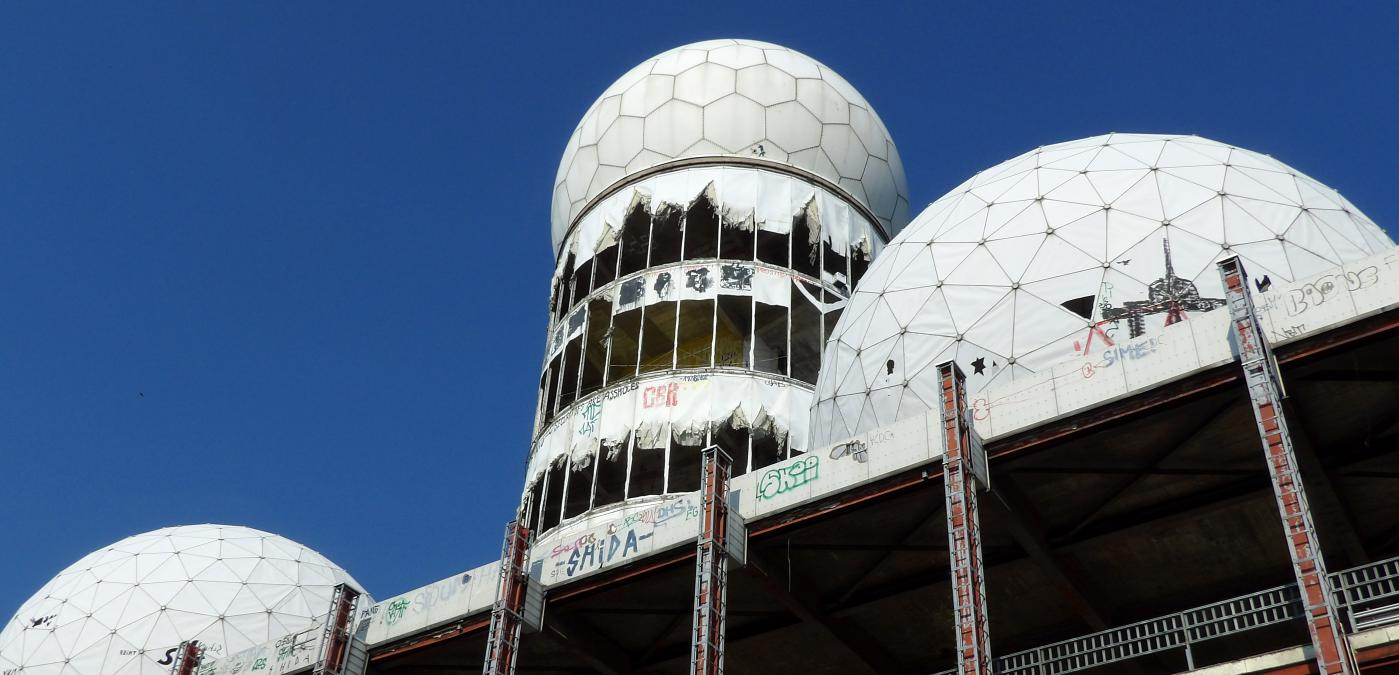 exploration urbaine berlin station d'espionnage américaine