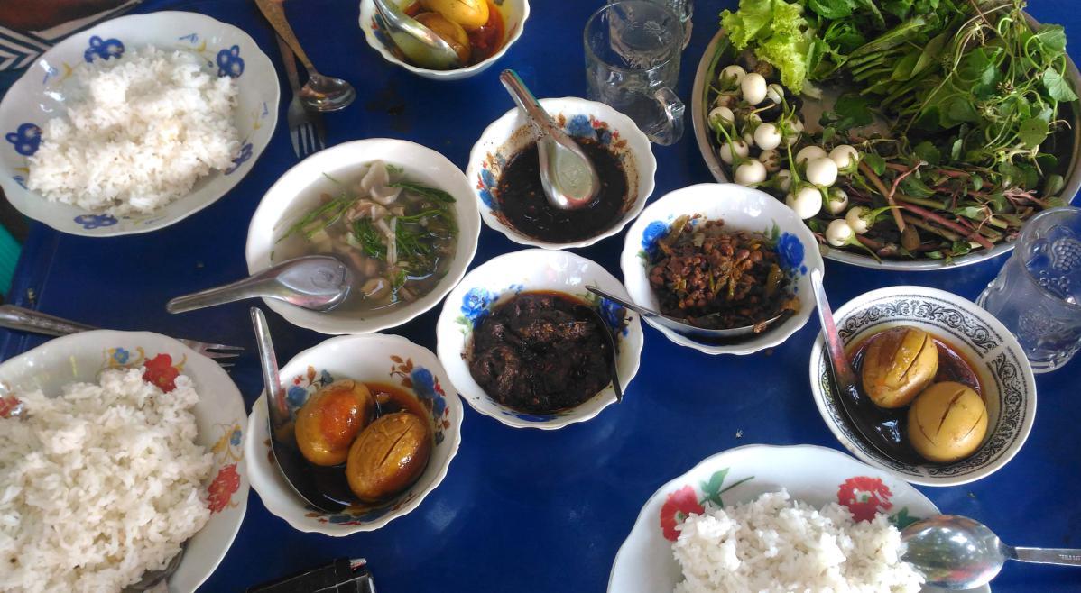 cuisine traditionnelle birmane