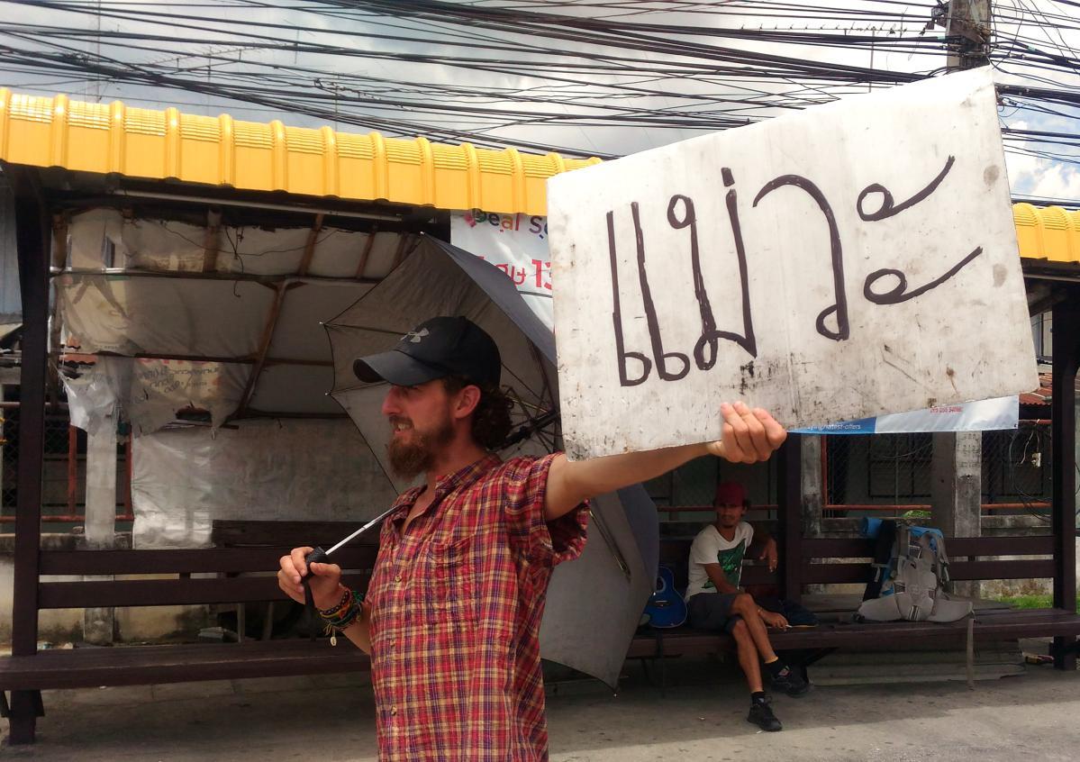 conseils pour faire de l'auto-stop en Thaïlande