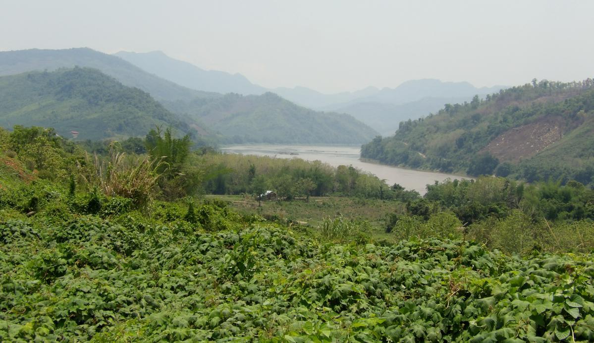 fleuve Mékong au Laos