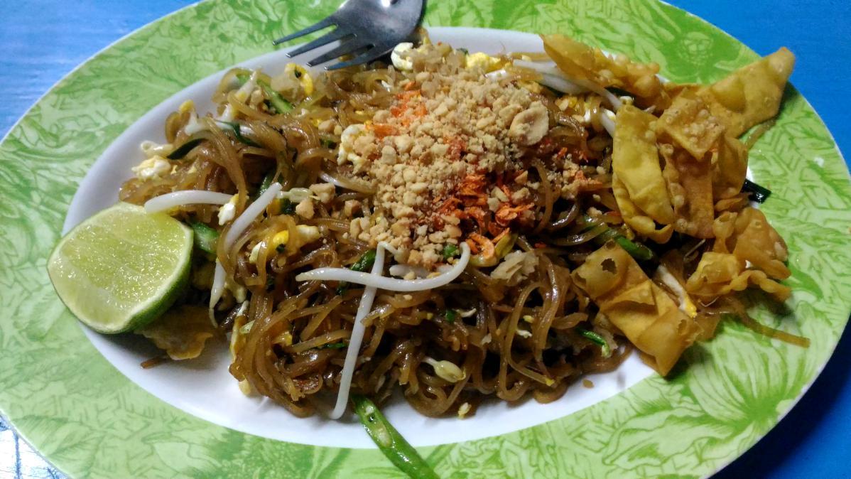pad thaï nourriture thaïlandaise