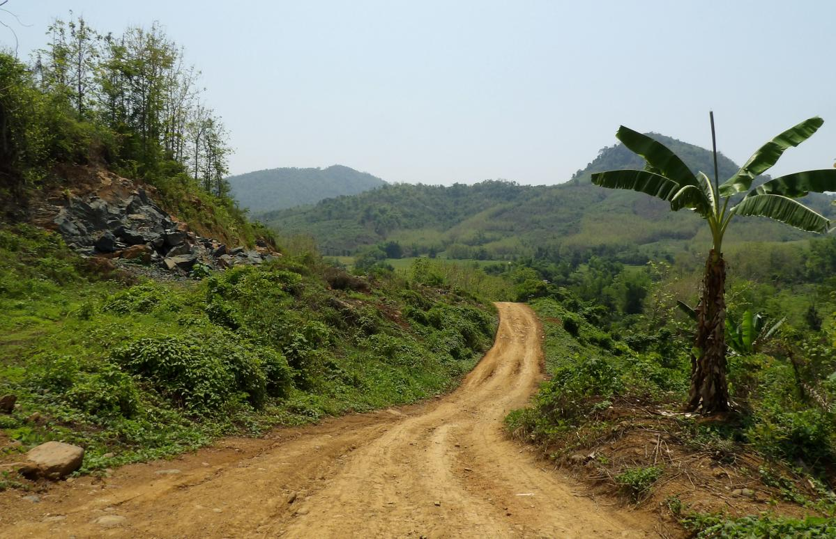 faire un trek au laos