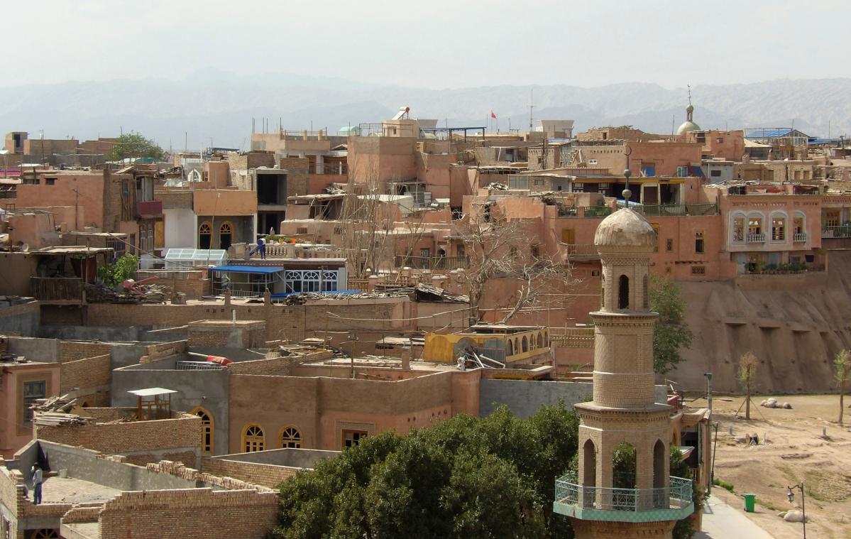 voyage à kashgar en chine