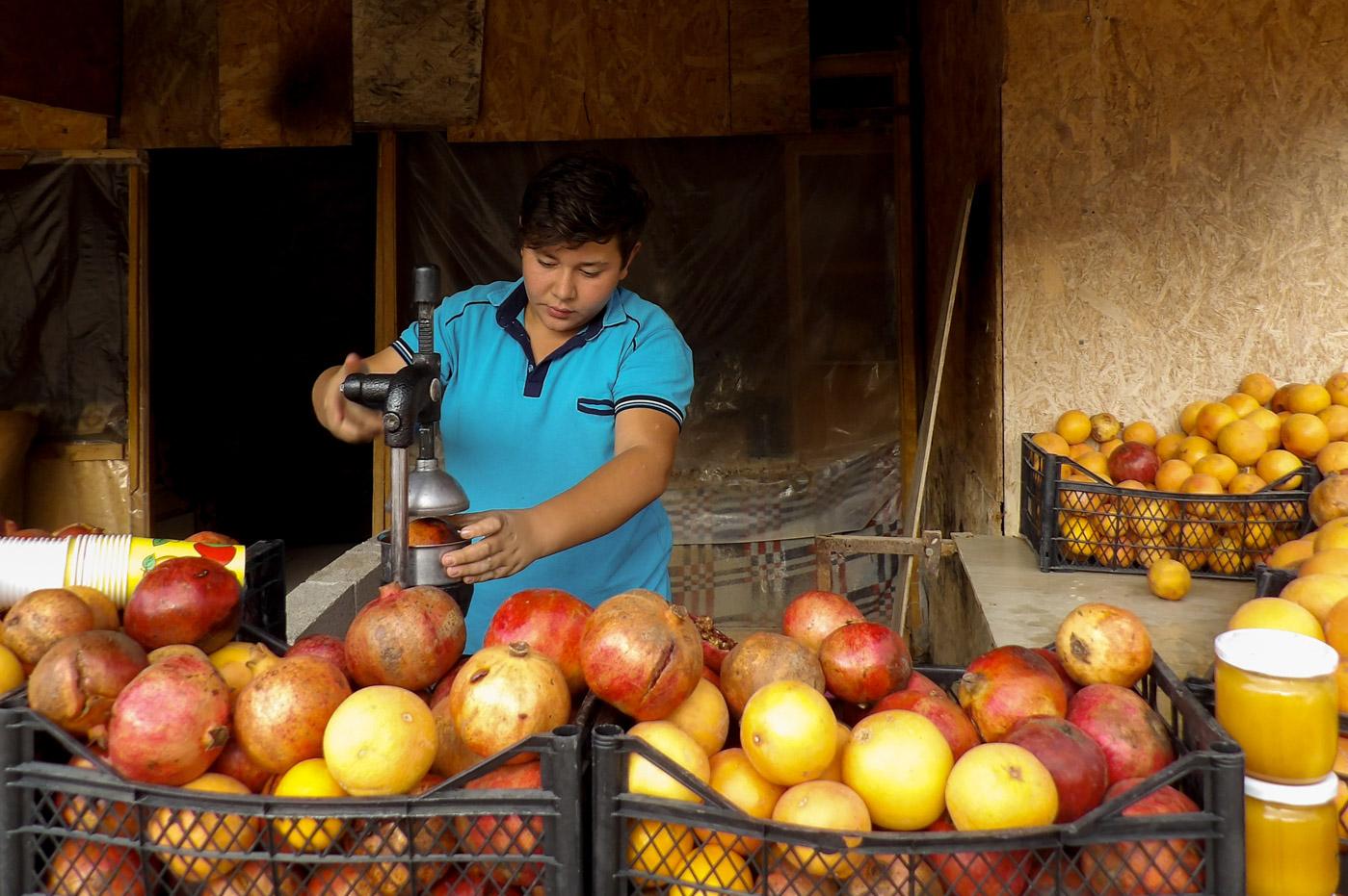 vendeur de rue turquie