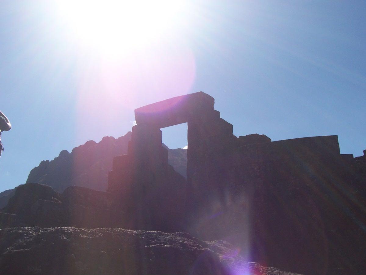 Temple du soleil, Pisac, Pérou