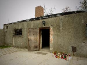 Chambre à gaz et crématorium, Auschwitz-Birkenau, Pologne