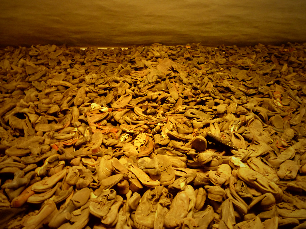 Chaussures des déportés, Auschwitz-Birkenau, Pologne