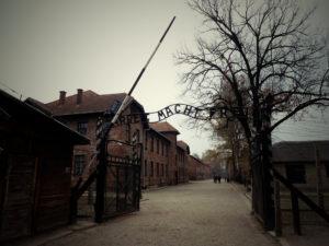 Entrée du camp I, Auschwitz-Birkenau, Pologne