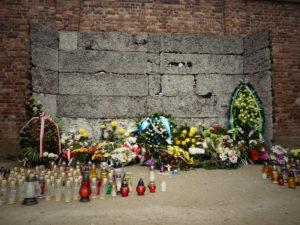Mur des fusillés, Auschwitz-Birkenau, Pologne