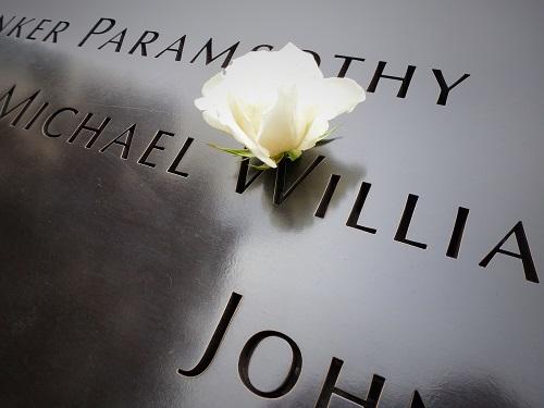 Mémorial Ground Zero - Fleur