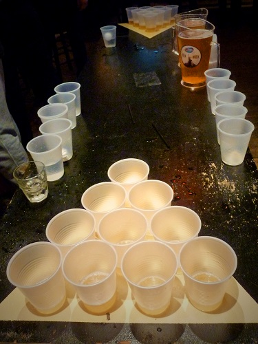 Beer-pong, New York