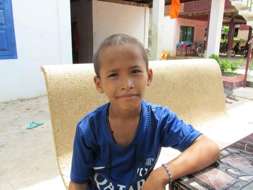 Samsan, enfant Kratie