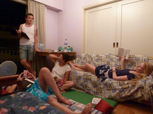 couchsurfing athènes