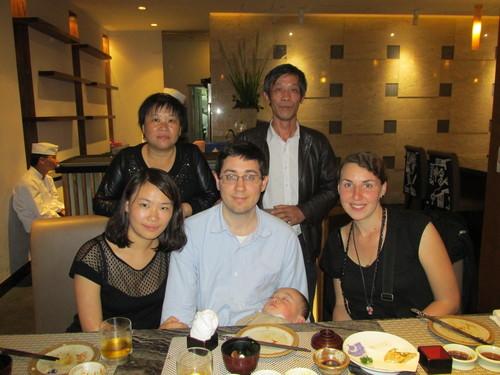 En famille, Shanghai