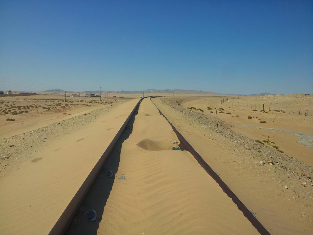 Kolmanskop, une ville fantôme envahie par les sables