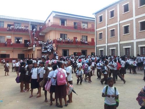Enfants de l'école - Madagascar