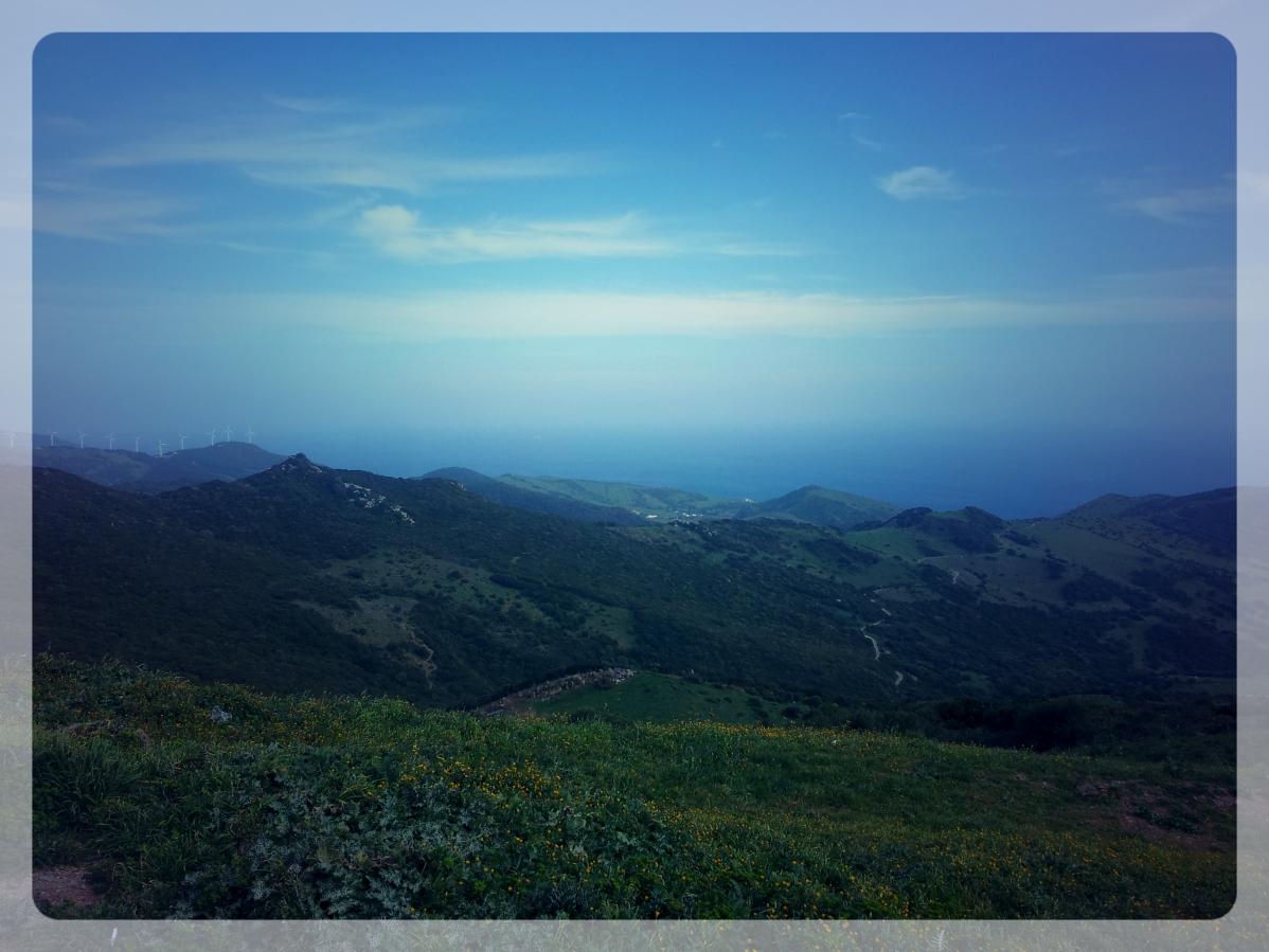Vers Tarifa, Espagne