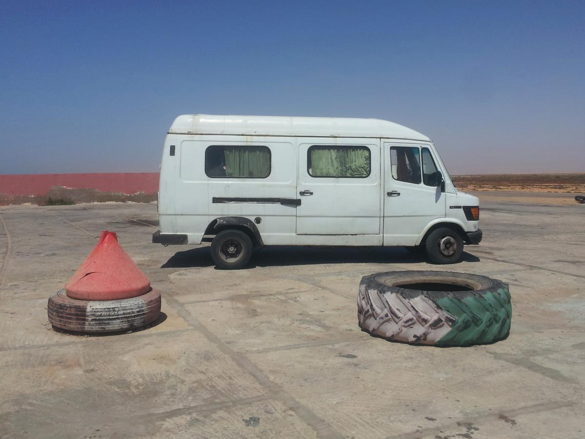 faire de l'auto-stop au Maroc