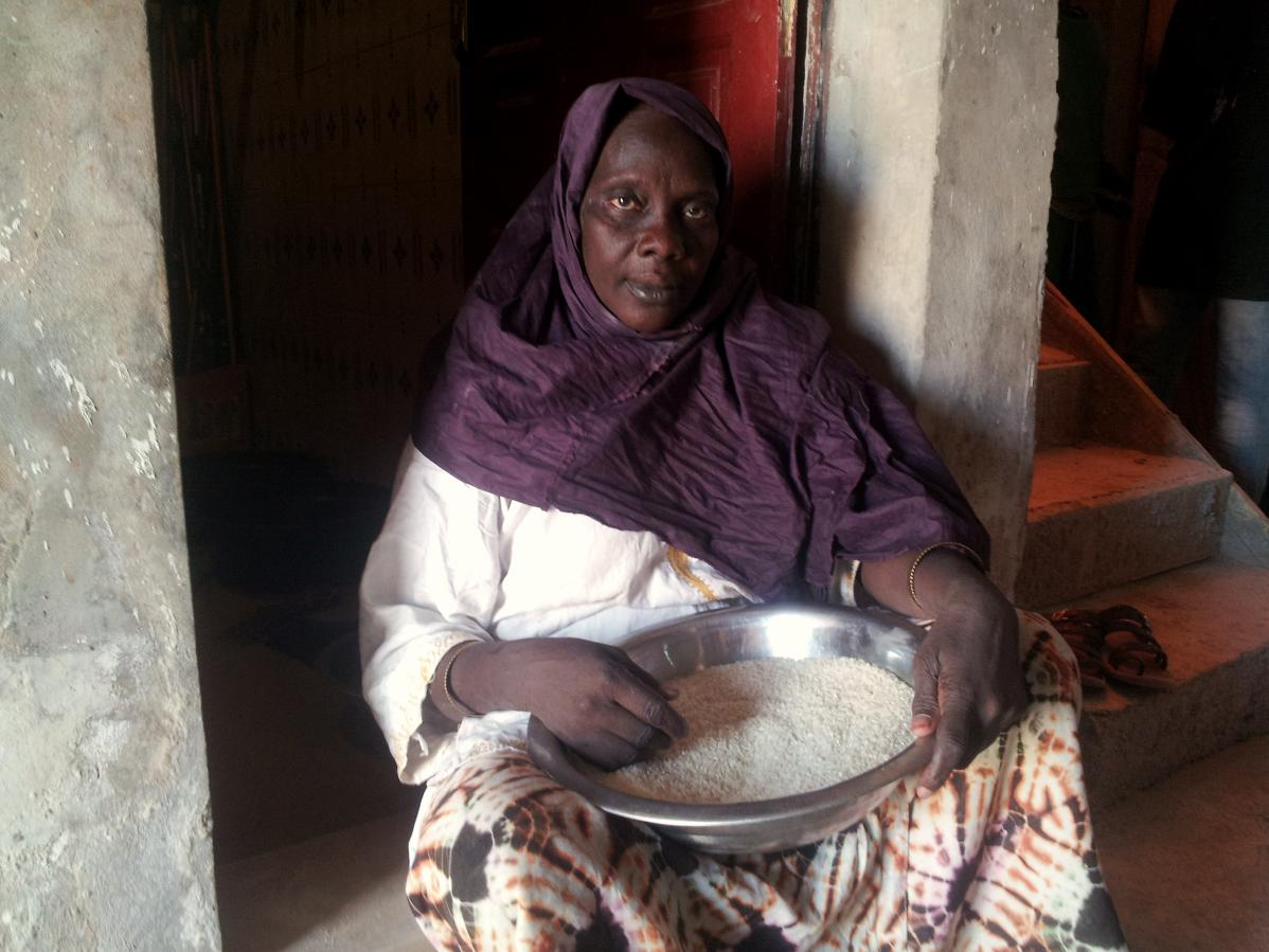 rencontre avec des mamans d'Afrique