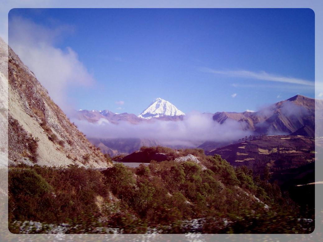 Cordillère des Andes, Pérou