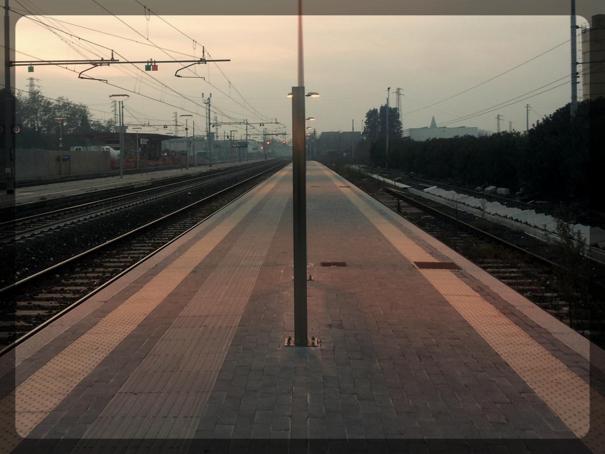 Quai gare Italie