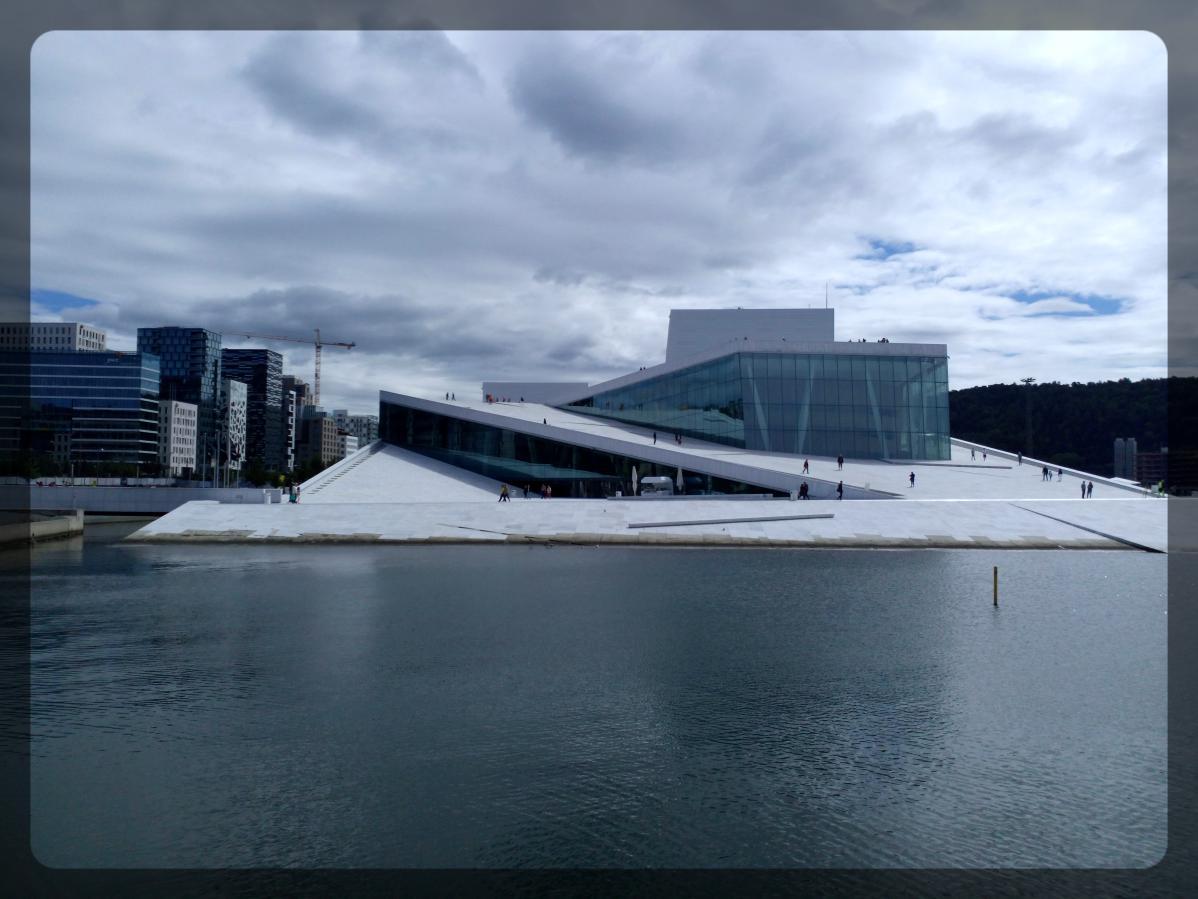 Opéra d'Oslo, Norvège