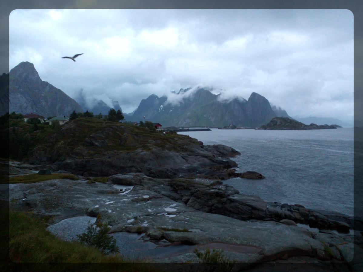 Paysage Reine, Lofoten, Norvège