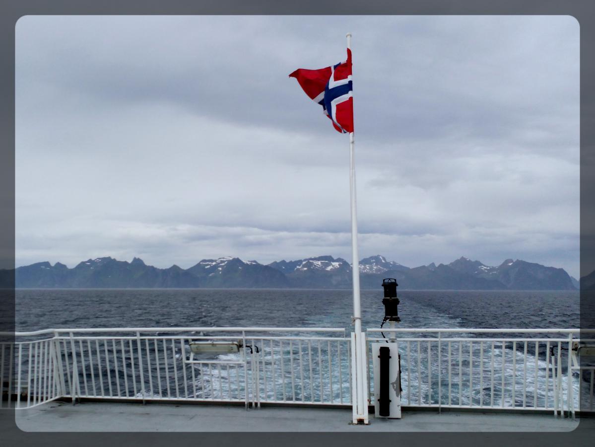 Ferry Bodo - Moskenes, Norvège