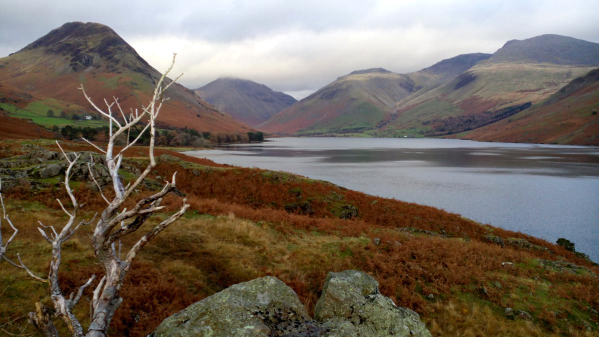 paysages du lake district en angleterre