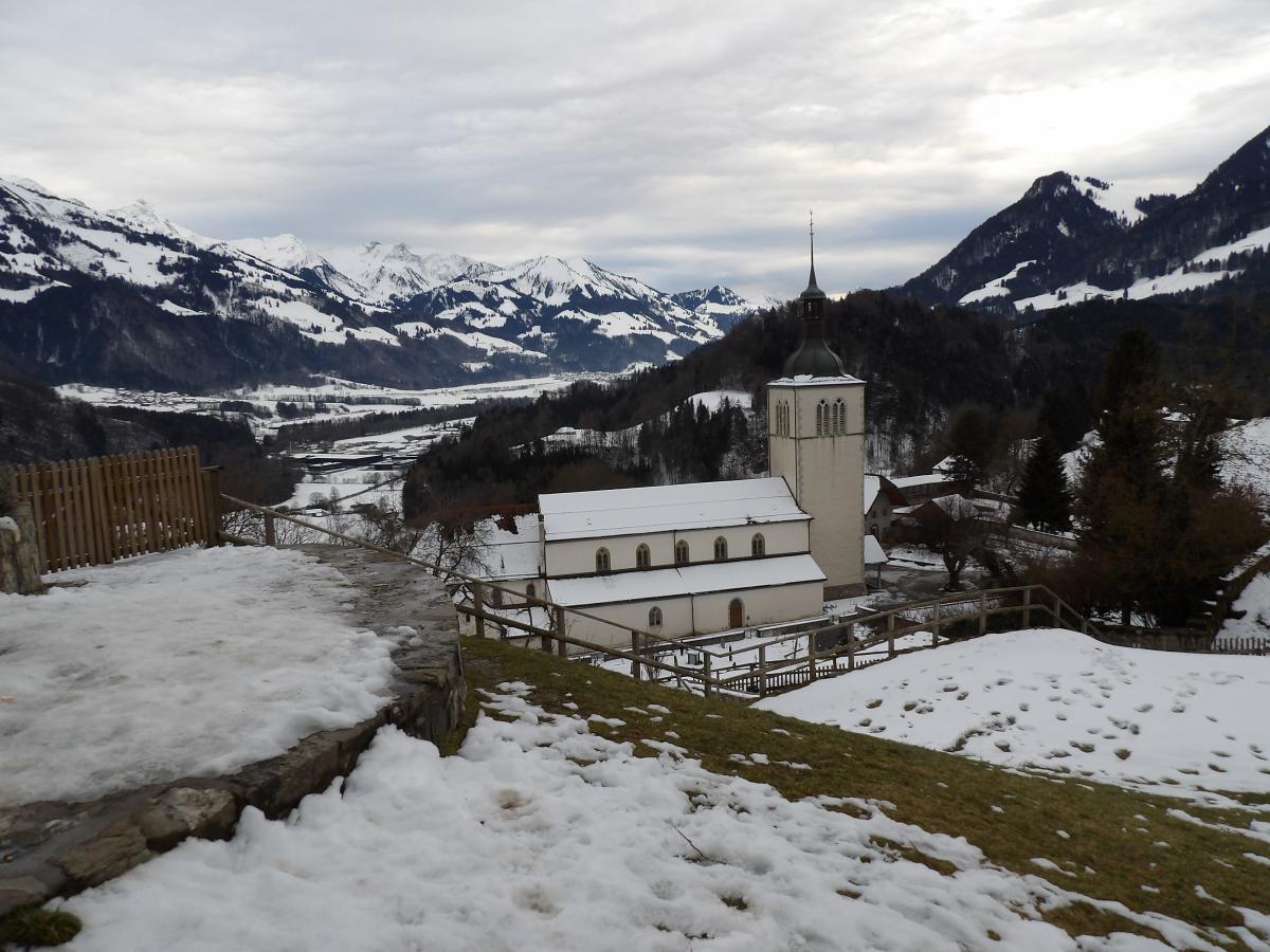 Visiter la Suisse : l'église Saint Théodule de Gruyères