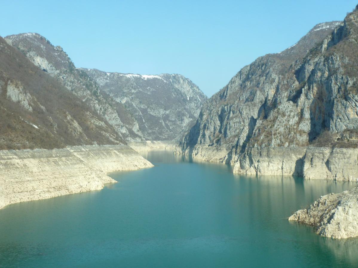 voyage au monténégro et découverte du fleuve tara unesco