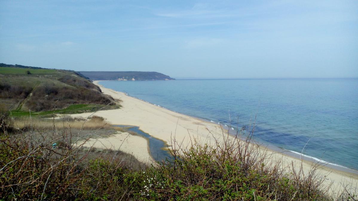 plage de la mer noire en bulgarie
