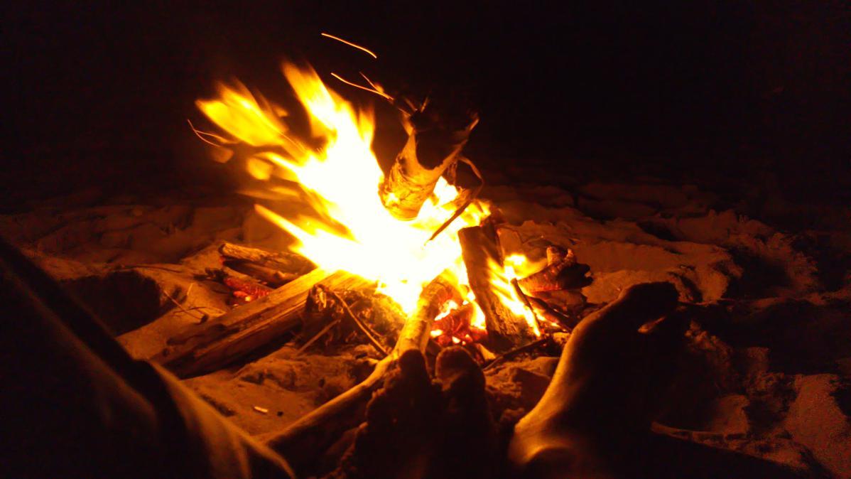 Soirée autour du feu : un grand souvenir!