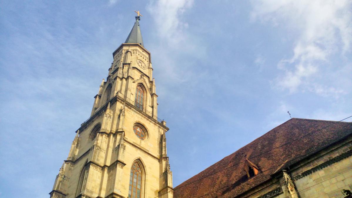 Cathédrale de Cluj (itinéraire road trip Roumanie)