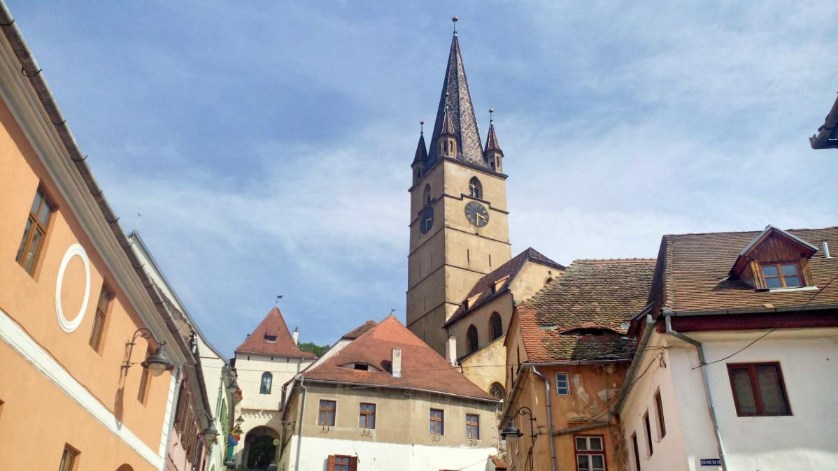 Sibiu, road trip en roumanie