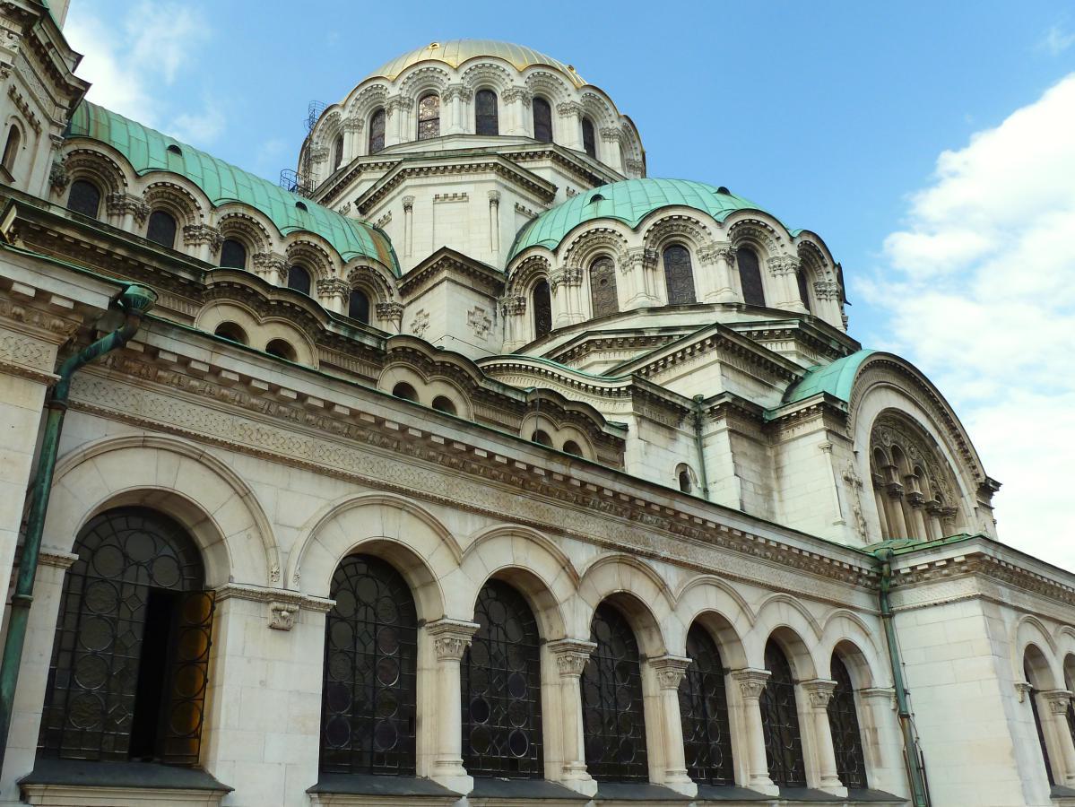 La cathédrale Alexandre-Nevski, à Sofia