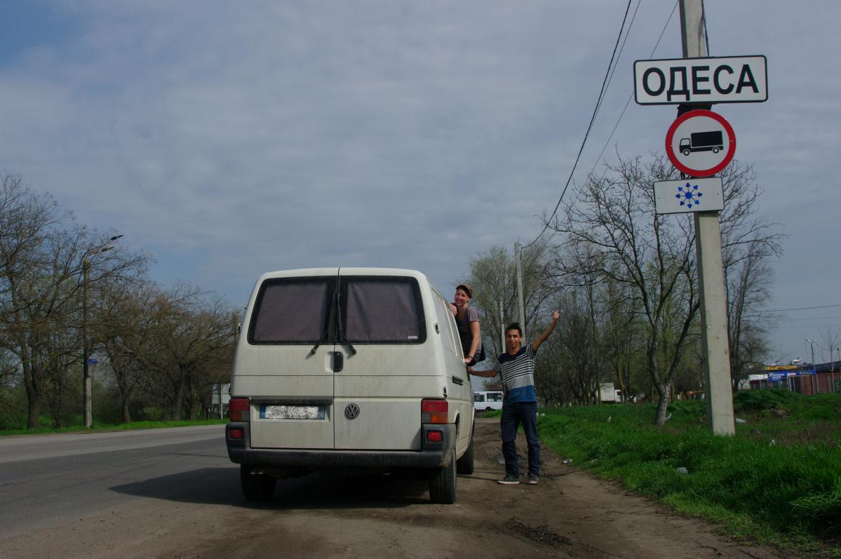 Orléans - Odessa en van : nous y sommes!