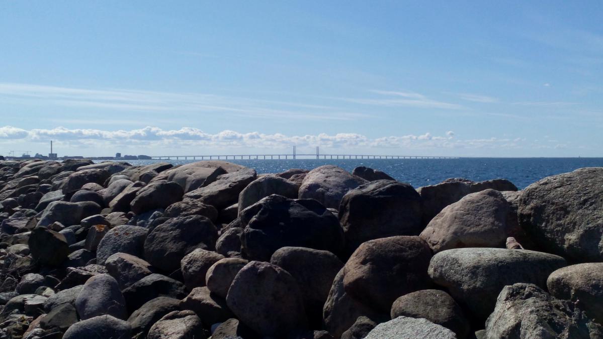 Le pont qui relie Malmö à Copenhague