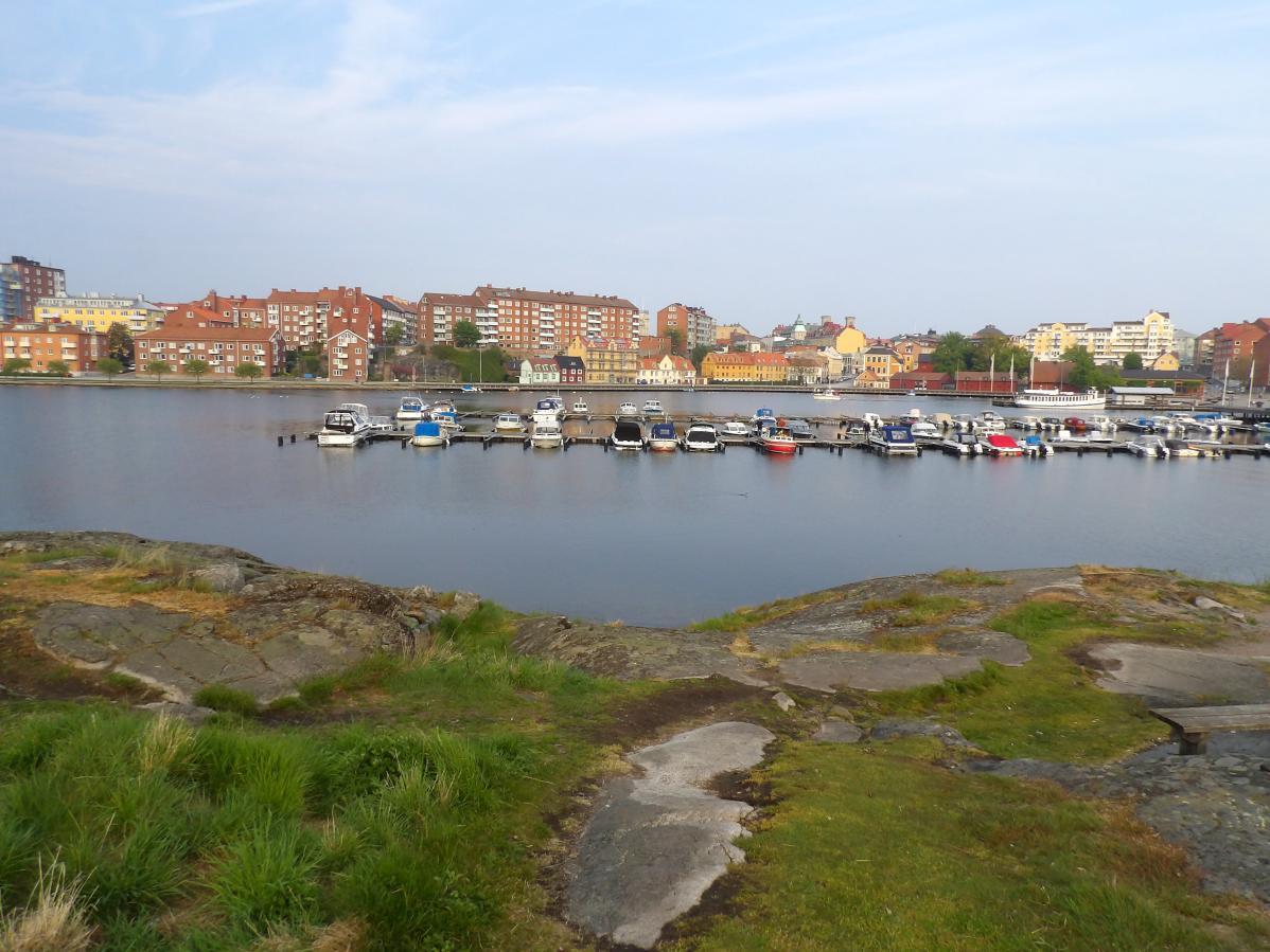 Visite du port de Karlskrona, en Suède