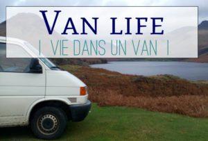 vie dans un van