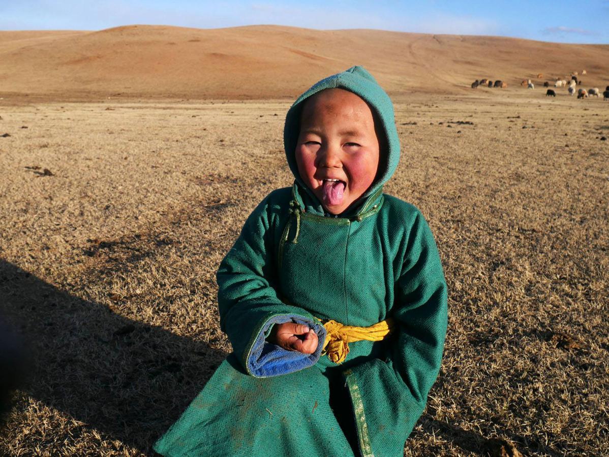 nomades en mongolie