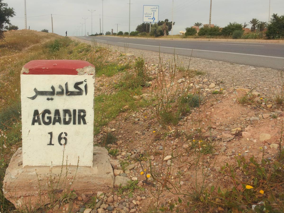 route-agadir