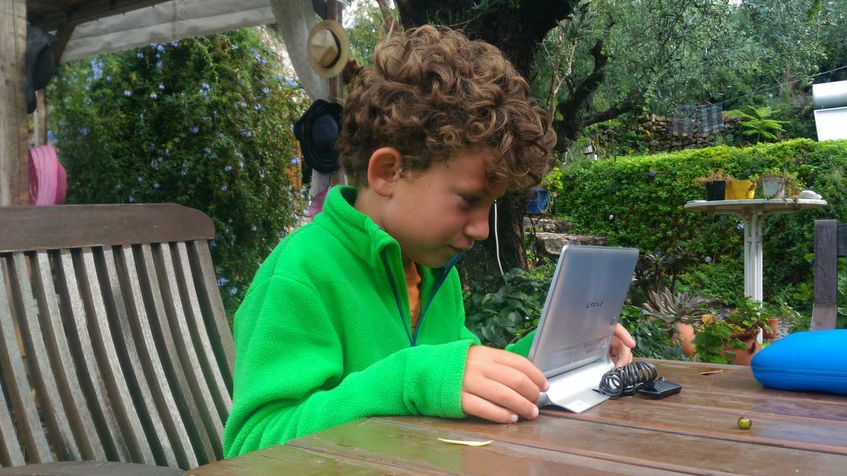 enfant blogueur voyage