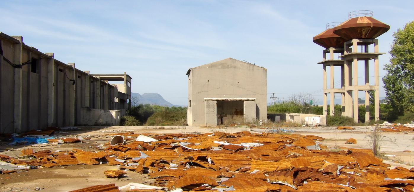 urbex grèce usine abandonnée