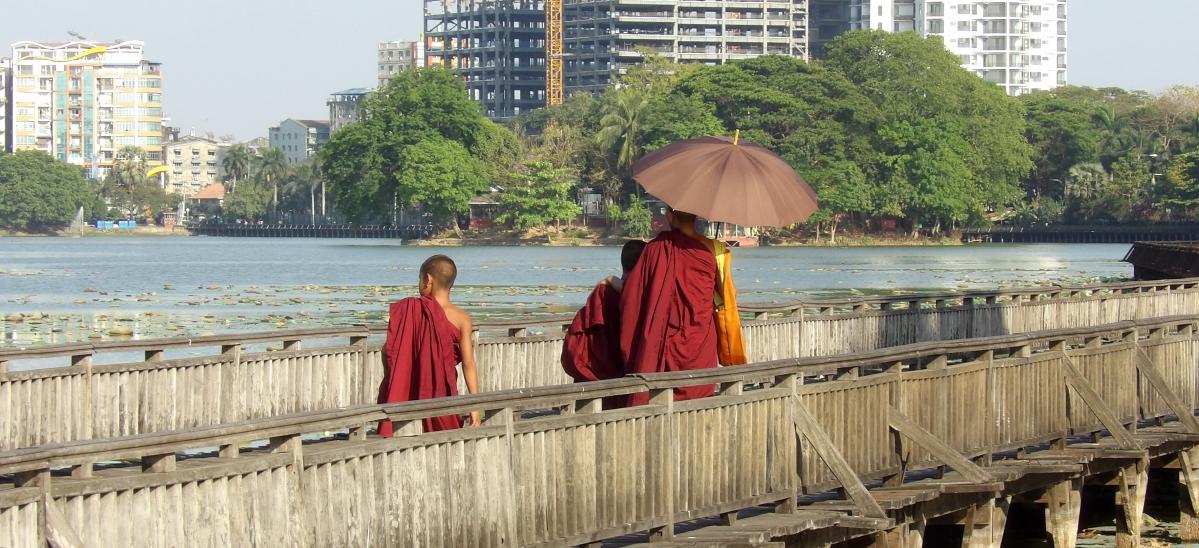 visiter yangon au maynmar, rangoun en birmanie