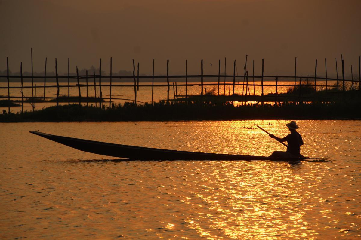 lac Inle au Myanmar