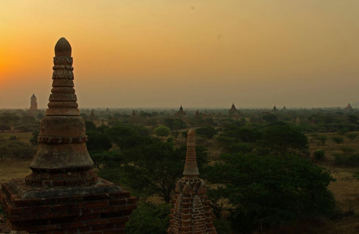 visiter bagan en birmanie