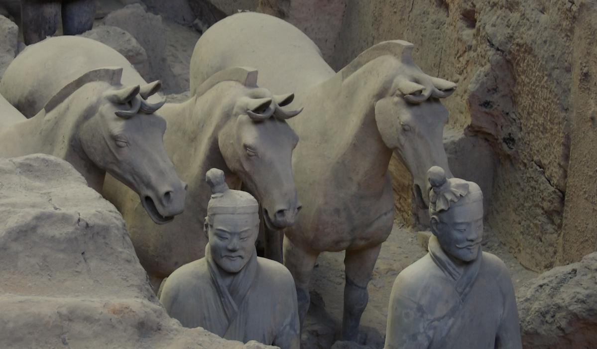 armée de terre cuite Xi'An